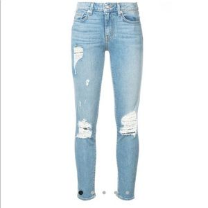Derek Lam 10 Crosby Distressed Jeans